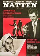 La notte - Danish Movie Poster (xs thumbnail)