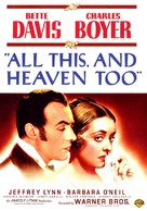 All This, and Heaven Too - DVD cover (xs thumbnail)