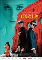 The Man from U.N.C.L.E. - Romanian Movie Poster (xs thumbnail)
