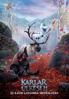 Frozen II - Turkish Movie Poster (xs thumbnail)