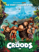 The Croods - French Movie Poster (xs thumbnail)