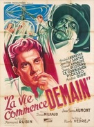 Vie commence demain, La - French Movie Poster (xs thumbnail)