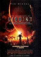 The Chronicles Of Riddick - Italian Movie Poster (xs thumbnail)