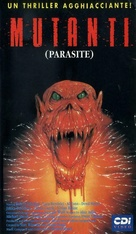 Parasite - Italian VHS movie cover (xs thumbnail)