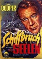 Souls at Sea - German Movie Poster (xs thumbnail)