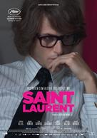 Saint Laurent - Danish Movie Poster (xs thumbnail)