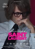 Saint Laurent - Danish Movie Poster (xs thumbnail)