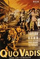 Quo Vadis - German Movie Poster (xs thumbnail)