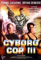 Cyborg Cop III - French DVD movie cover (xs thumbnail)