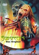 Subspecies - German DVD cover (xs thumbnail)