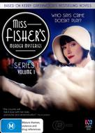 Miss Fisher's Murder Mysteries - Australian DVD movie cover (xs thumbnail)