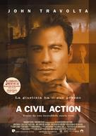 A Civil Action - Italian Movie Poster (xs thumbnail)