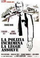 La polizia incrimina la legge assolve - Italian Movie Poster (xs thumbnail)