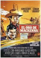 Mackenna's Gold - Spanish Movie Cover (xs thumbnail)