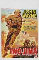 Sands of Iwo Jima - Belgian Movie Poster (xs thumbnail)