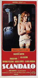 Scandalo - Italian Movie Poster (xs thumbnail)