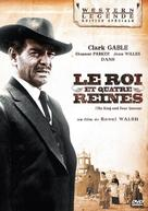 The King and Four Queens - French DVD movie cover (xs thumbnail)