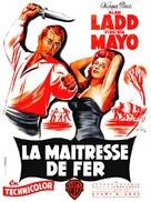 The Iron Mistress - French Movie Poster (xs thumbnail)