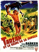 Tarzan's Peril - French Movie Poster (xs thumbnail)