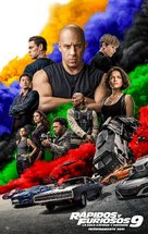 Fast & Furious 9 - Mexican Movie Poster (xs thumbnail)