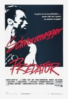 Predator - Italian Movie Poster (xs thumbnail)