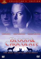 Blood and Chocolate - DVD cover (xs thumbnail)