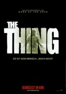 The Thing - German Movie Poster (xs thumbnail)