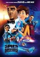 Spies in Disguise - Swedish Movie Poster (xs thumbnail)