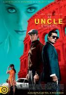 The Man from U.N.C.L.E. - Hungarian Movie Poster (xs thumbnail)