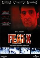 Fear X - Spanish DVD cover (xs thumbnail)