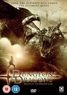 Dungeons And Dragons 2 - British DVD movie cover (xs thumbnail)