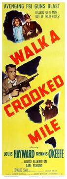 Walk a Crooked Mile - Movie Poster (xs thumbnail)