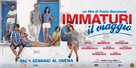 Immaturi - Il viaggio - Italian Movie Poster (xs thumbnail)