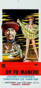 The Face of Fu Manchu - Italian Movie Poster (xs thumbnail)