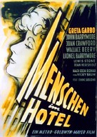 Grand Hotel - German Movie Poster (xs thumbnail)