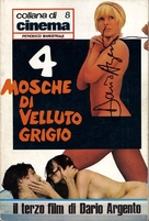 4 mosche di velluto grigio - Italian VHS movie cover (xs thumbnail)