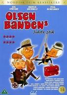 Olsen-bandens sidste stik - Danish DVD cover (xs thumbnail)