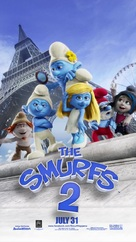 The Smurfs 2 - Philippine Movie Poster (xs thumbnail)