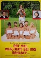 Rat' mal, wer heut bei uns schläft...? - German Movie Poster (xs thumbnail)