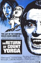 The Return of Count Yorga - British Movie Poster (xs thumbnail)