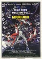 Moonraker - Italian Theatrical poster (xs thumbnail)