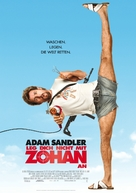 You Don't Mess with the Zohan - German Movie Poster (xs thumbnail)