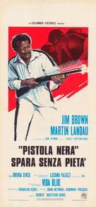 Black Gunn - Italian Movie Poster (xs thumbnail)