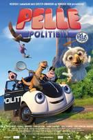 Pelle Politibil på sporet - Norwegian Movie Poster (xs thumbnail)