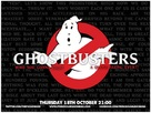 Ghostbusters - British Re-release movie poster (xs thumbnail)
