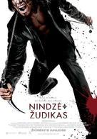 Ninja Assassin - Lithuanian Movie Poster (xs thumbnail)