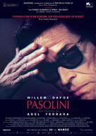 Pasolini - Spanish Movie Poster (xs thumbnail)