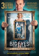 Big Eyes - Uruguayan Movie Poster (xs thumbnail)