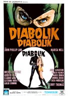 Diabolik - Spanish Movie Poster (xs thumbnail)