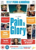 Dolor y gloria - British DVD movie cover (xs thumbnail)